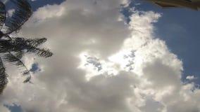 Промежуток времени облаков сток-видео