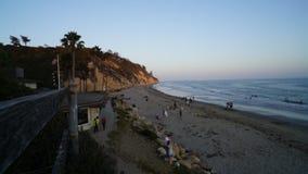 Промежуток времени Санта-Барбара Калифорния Burro Арройо акции видеоматериалы
