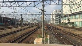Промежуток времени станции Amagasaki, Японии акции видеоматериалы
