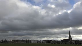 Промежуток времени beautiful clouds акции видеоматериалы