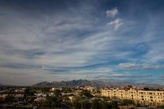 промежуток времени 4K неба в Аризоне сток-видео
