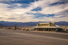 Промежуточная станция Wells Stovepipe в северной области Death Valley Стоковые Фото