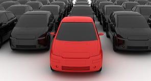 промежуточный продавец автомобиля Стоковая Фотография RF