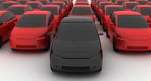 промежуточный продавец автомобиля Стоковые Изображения RF