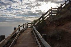 Променад пляжа бухты Hallett Стоковое фото RF