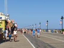 Променад города океана в Нью-Джерси Стоковые Изображения