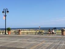 Променад города океана в Нью-Джерси Стоковое Изображение RF
