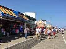 Променад города океана в Нью-Джерси Стоковая Фотография RF