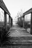 Променад пляжа Стоковые Фотографии RF
