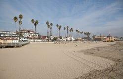 Променад пляжа Santa Cruz Стоковое Фото