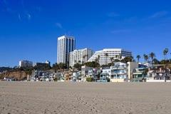 Променад Санта-Моника, Калифорния, США Стоковые Изображения RF