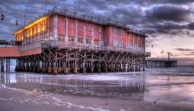 Променад Daytona Beach стоковые фотографии rf