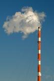 промышленная дымовая труба Стоковое Изображение