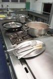 промышленная кухня Стоковая Фотография