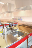 промышленная кухня Стоковые Изображения