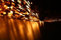 Промышленная машина лазера для металла стоковое фото