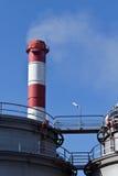 Промышленная печная труба Стоковое Изображение
