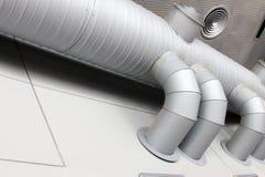 Промышленная система вентиляции Стоковые Изображения
