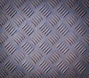 Промышленная стальная текстура металла с виньеткой предпосылка, украшение стоковое изображение rf
