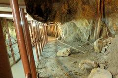 промышленная шахта подземная Стоковые Фотографии RF