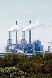 Промышленное загрязнение и валы Стоковые Изображения RF