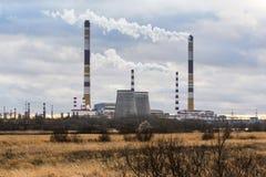 Промышленное загрязнение окружающей среды Стоковое Изображение RF
