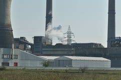 промышленное загрязнение Стоковое фото RF