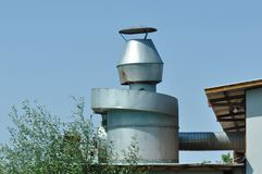 промышленное загрязнение Стоковая Фотография RF