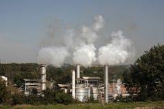 промышленное загрязнение Стоковое Изображение