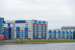 Промышленное здание и сфера интереса VKO Almaz-Antey Стоковые Фотографии RF