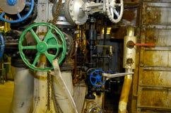 промышленное колесо клапана стоковое фото