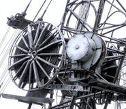 Промышленное копая экскаватором оборудование Стоковое Изображение