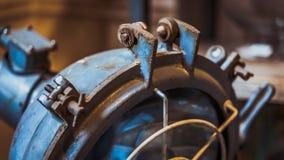 Промышленное освещение лампы металла стола стоковые фото