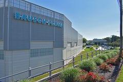 Промышленное предприятие Bausch & Lomb стоковое фото rf