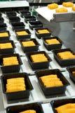промышленное производство еды Стоковое Изображение