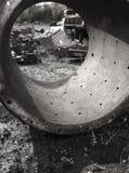 промышленное старье Стоковая Фотография RF