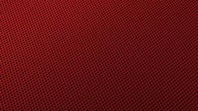 Промышленные отверстия утюга Metall стальные делают по образцу для того чтобы фильтровать равновеликий красный цвет иллюстрация штока