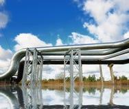 промышленные трубопровода Стоковое Изображение RF