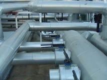 промышленные трубы Стоковое Изображение