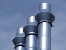 промышленные трубы Стоковые Изображения RF