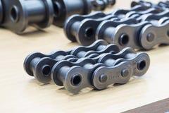 Промышленные цепи для машины стоковые фотографии rf