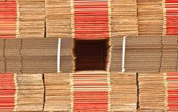 промышленный бумажный стог Стоковые Фото