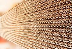 промышленный бумажный стог Стоковое Изображение RF