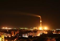 промышленный город стоковые фото