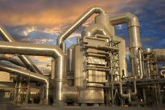 промышленный завод Стоковое фото RF