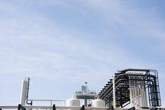 промышленный завод Стоковые Фото