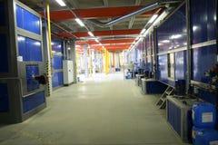 промышленный завод Стоковое Изображение