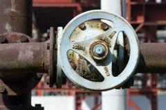 промышленный клапан стоковое изображение