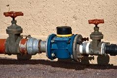 промышленный клапан Стоковая Фотография