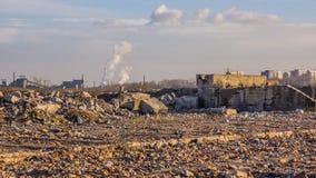 Промышленный ландшафт Стоковое Фото